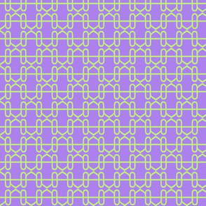 R chain green purple