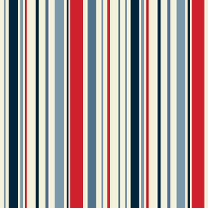 Red White and Blue stripes