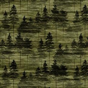 Forest Mist - green