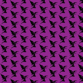Black Sabbath Devil on Purple