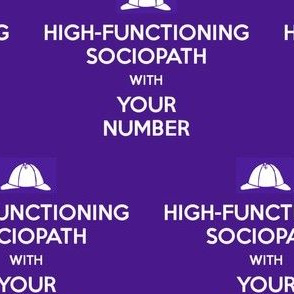 High-Functioning Sociopath - solid