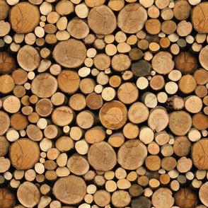 seamless log pile