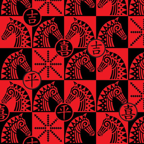 Xiangqi! Red and Black