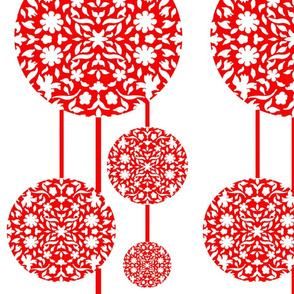 Middle Eastern Chinese Paper-cut Lanterns