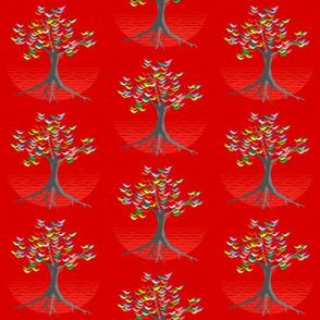 flock china red