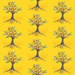 flock lemon yellow