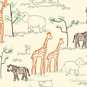 safari love ©2014 Jill Bull