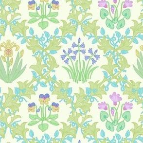 William Morris Inspired Botanical