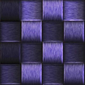 purple metal weave