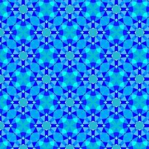 Blue dimond's sparkles