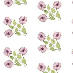 A Dream Flower Purple
