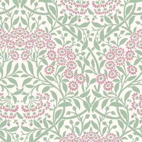 William Morris Woodblock Wallpaper