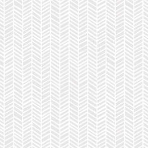 Herringbone Light Grey by Friztin - Mini