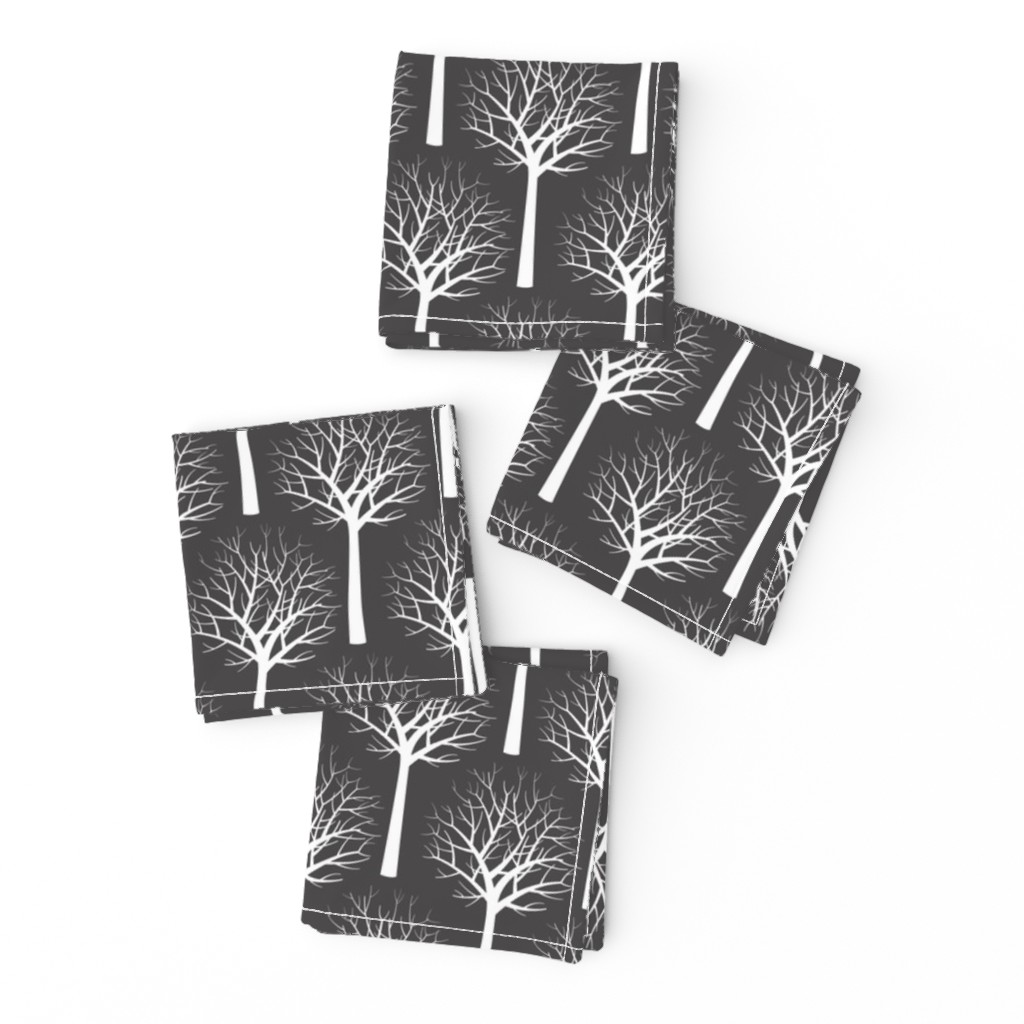 Frizzle Cocktail Napkins featuring Modern Graphic Toile de Jouy by Friztin  by friztin