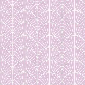 Art Deco Lavender Fields by Friztin