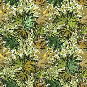 Green Mosaic by Camomoto