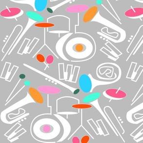 Sound of jazz (pastel pink)