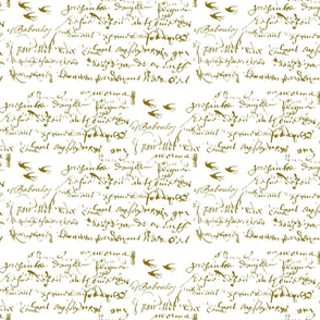 Anita's Inspiration French script