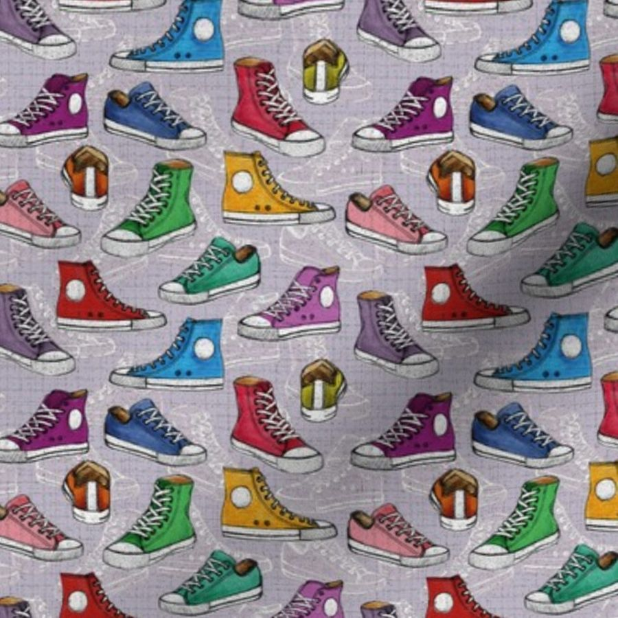 54f1790b8fca Shoes Converse - Spoonflower