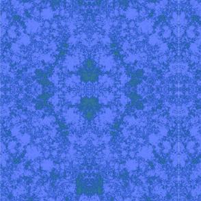 Lichen in Dark Blue and Purple © 2010 Gingezel™ Inc.