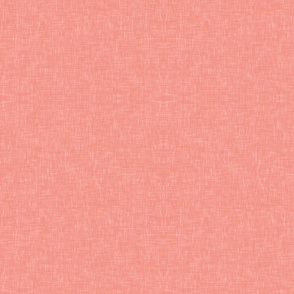 Light Coral Linen Solid