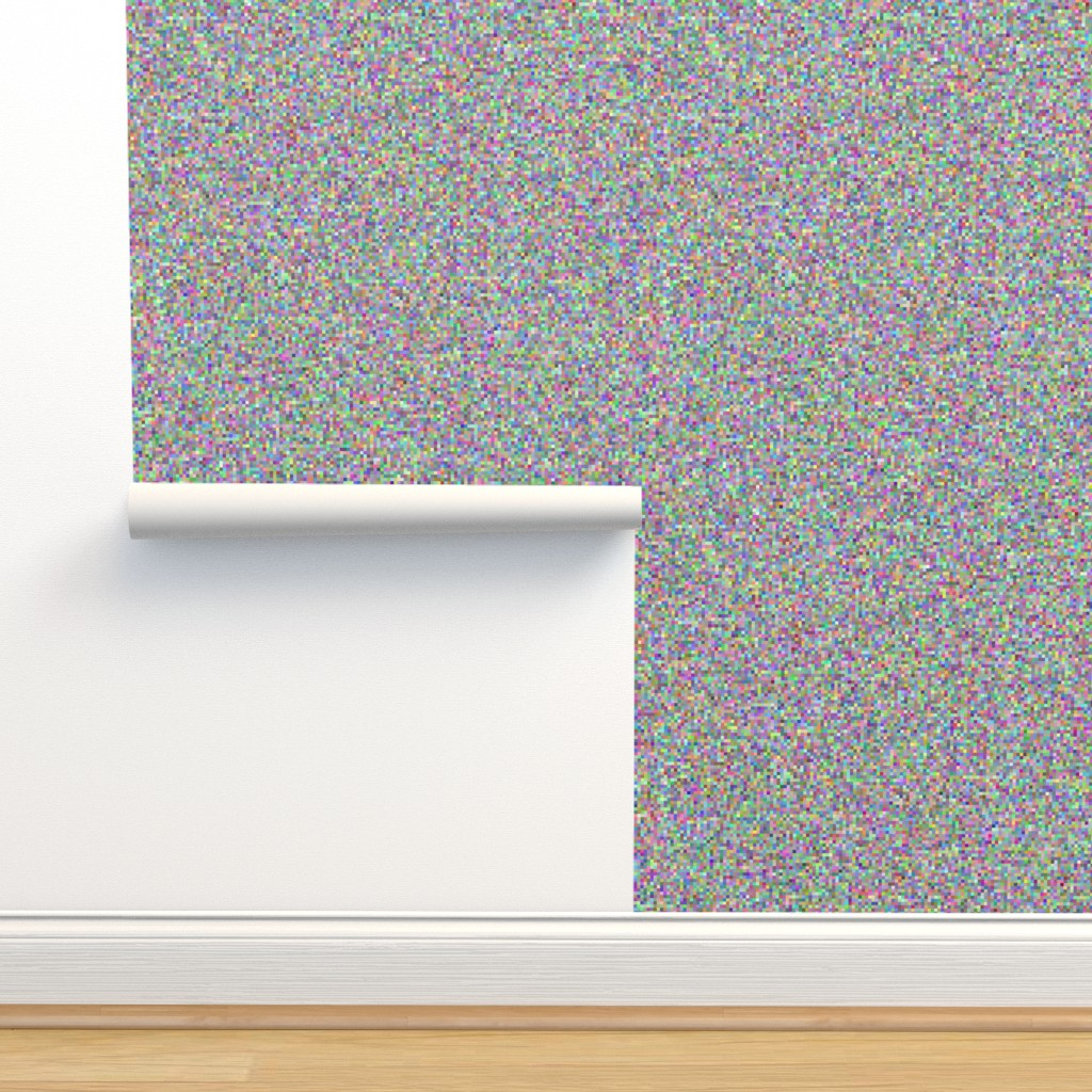 Isobar Durable Wallpaper featuring 8-bit computer static camouflage by weavingmajor