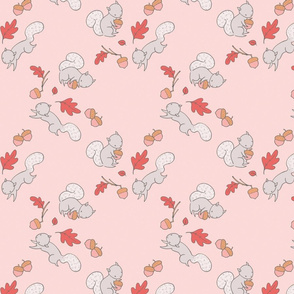 squirrel pink colorway