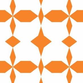 decagon orange - white