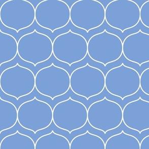 sugarplum cornflower blue