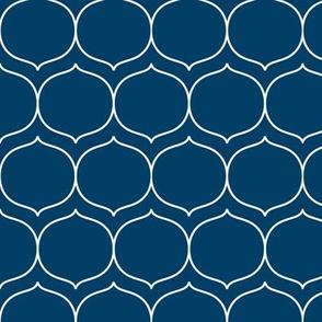 sugarplum navy blue