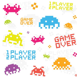 Space invaders - game over