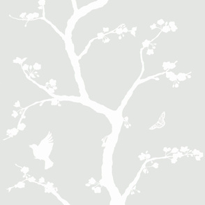 jenny Simple cherry blossoms on haze