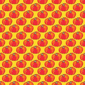 Beefsteak Tomatoes on Yellow