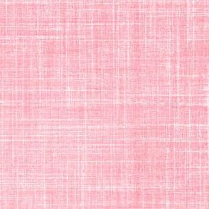 Linen in Carnation Pink