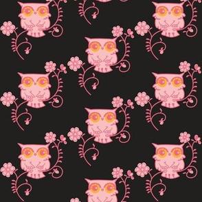 Owls Pink