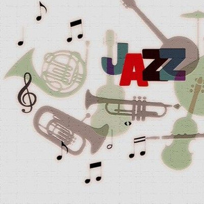 Jazz mood with texture