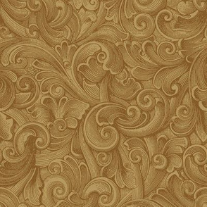 Engrave Swirls 4 Taupe