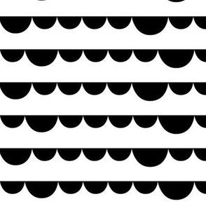 black hemispheres