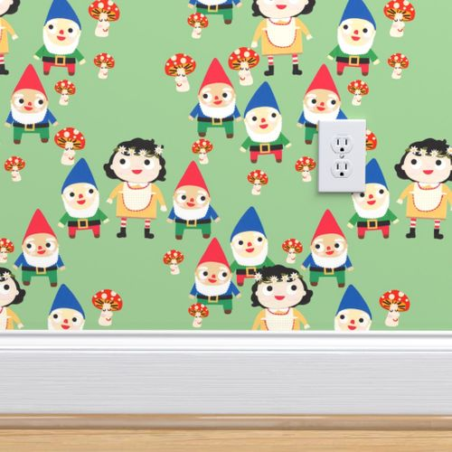 Wallpaper Snow White And The Seven Dwarfs