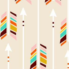 Large Arrows: Ivory