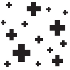 Scattered Swiss Cross