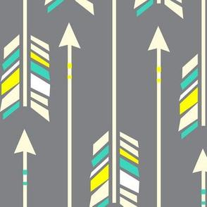 Large Arrows: Neon Glow