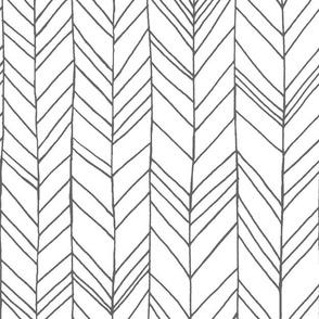 Featherland White/Gray LARGE