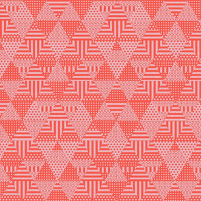 Shaped triangles (pink)