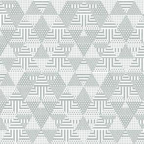 Shaped triangles (gray)