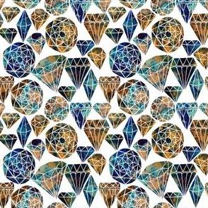 Painted Gemstones
