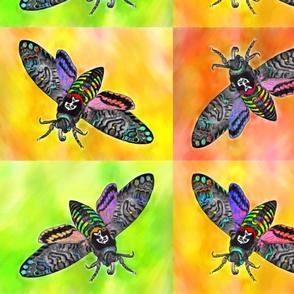 Bright Goth Moths