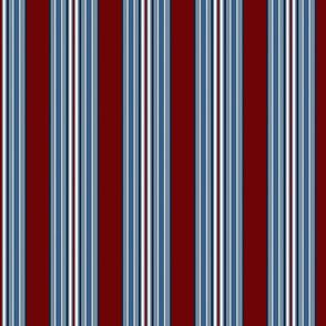 Grandpa's Pajamas Vertical Multi Stripes