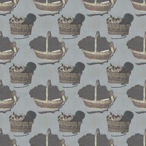 Woolen Knitin' n Kittens - slate
