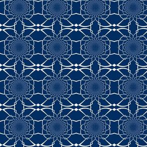 Large Navy Pattern